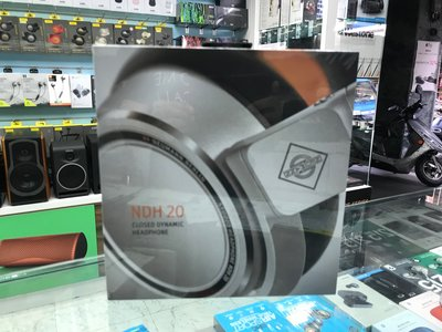 禾豐音響 正品公司貨 Neumann NDH 20 頂級監聽耳機 所有細節不可思議的繽紛又精準 另hd25