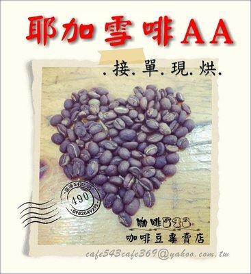 【香水.咖啡】衣索比亞 耶加雪啡 AA 級 每磅490 水洗處理【咖啡 543】超夯 柚香
