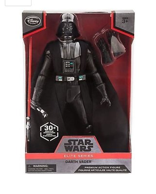 正版 Disney Store Star Wars elite series darth vader Premium Action Figure