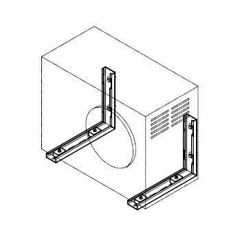 ☆成志金屬☆#304不鏽鋼分離式冷氣機固定架