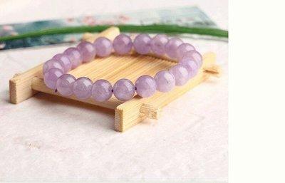 天然薰衣草紫水晶手鍊(頭等艙精品)