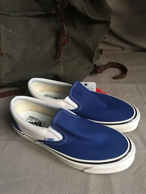 VANS slip-on style98 DX / OG BLUE/9(old school/1970/衝浪)