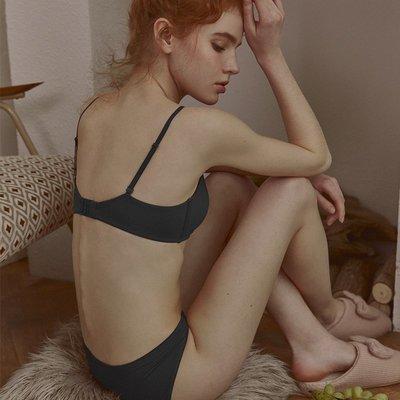 舒適莫代爾親膚美背大學生內衣女無鋼圈上托防下垂女士小胸罩薄款文胸