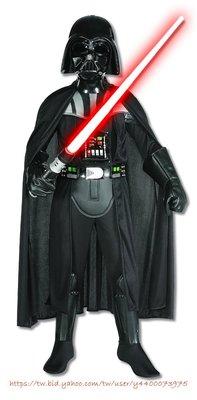 妍媽咪兒童禮服出租~新Star Wars星際大戰達斯維達豪華黑武士造型8-10T大童~萬聖節表演