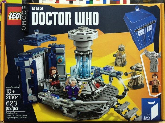 【痞哥毛】LEGO 樂高 21304 Doctor Who 超時空博士 全新未拆
