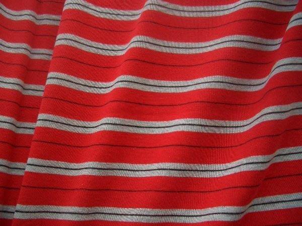 ※布箱子※純棉羅紋針織條子布(K85A-7)彈性好.適合ㄒ恤.親子裝.情侶裝