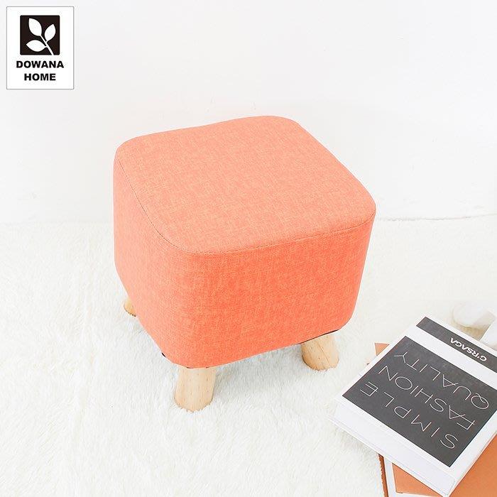 【多瓦娜】萌萌貓抓皮四腳方凳-六色-4881