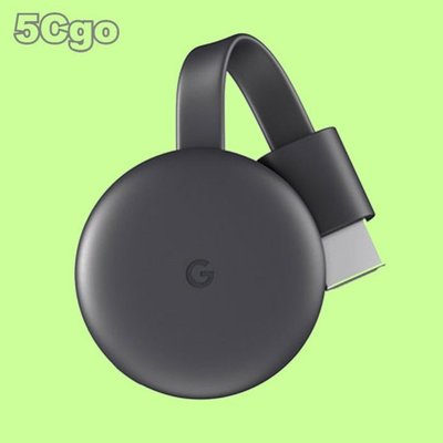 5Cgo【權宇】Google谷歌Chromecast三代1080P無線視頻投器HDMI 另有Ultra 4K HDR含稅