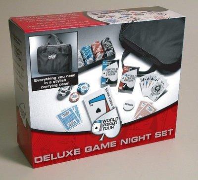 WPT 撲克牌籌碼組(含旅行袋)