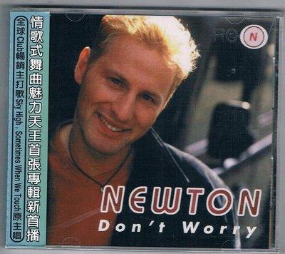 [鑫隆音樂]西洋CD-紐頓NEWTON/別擔心DON,T WORRY (MED209) 全新/免競標