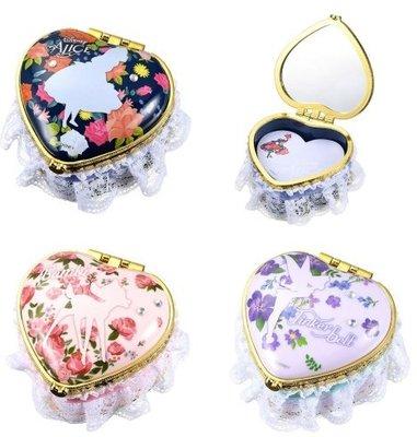 Flower花漾《預購》日本迪士尼商店 正版 小鹿斑比小精靈艾莉絲愛麗絲 造型便條紙 小鏡子摺疊鏡隨身鏡 紙條 飾品盒