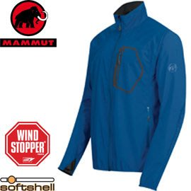 丹大戶外【MAMMUT】瑞士長毛象 透氣保暖防風防潑水休閒夾克外套 1010-17570-5423 藍