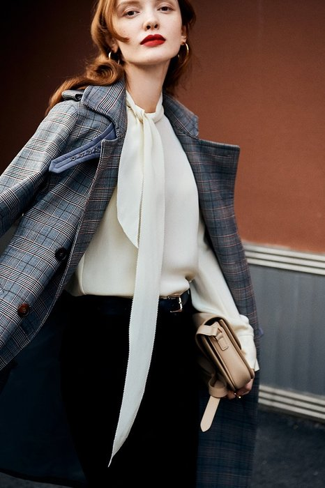頂級奢華♥大衣☆進口羊毛精細筆挺加厚風衣大衣