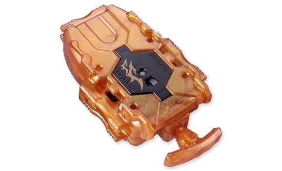 現貨 日版 戰鬥陀螺 BURST WHF B-00 wbba.限定 金色 右迴轉專用 旋風發射器 加長強化型