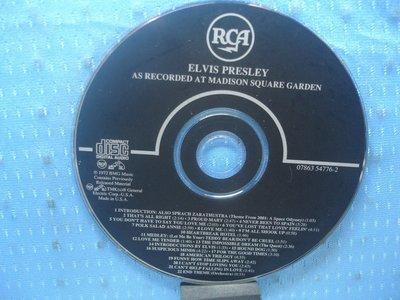[無殼光碟]CI Elvis Presley As Recorded at Madison Square Garden