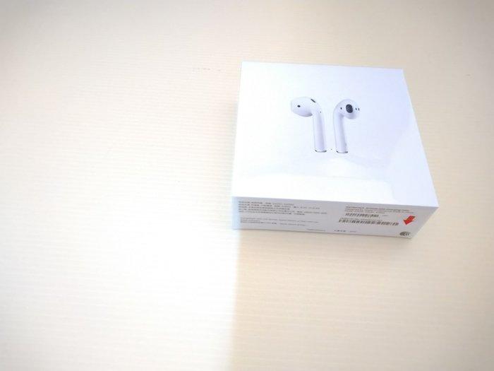 誠信3C 全新未拆 台灣原廠保固一年 APPLE AirPods 2 AirPods 2代 無線藍芽耳機 有線充電盒版