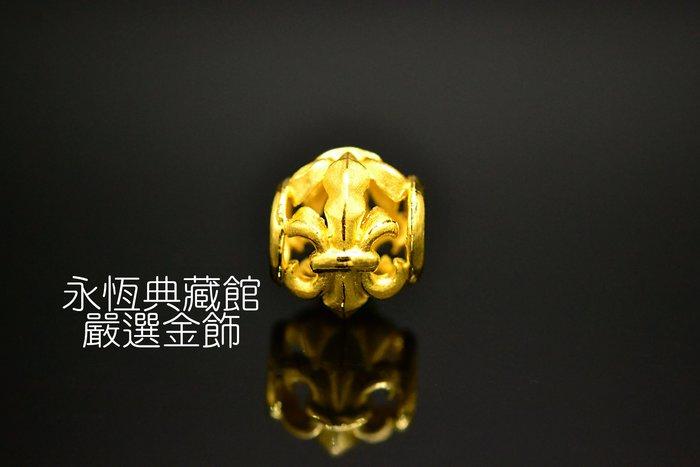 【永恆典藏館】Jcode真愛密碼【永恆騎士黃金串珠】兼具質感和保值的首選 也可以當墬飾配戴 免運
