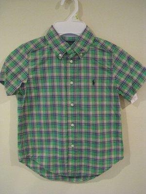 Ralph Lauren 男童衫 (4T, 6 及 8 尺寸)