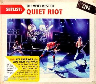 【搖滾帝國】美國重金屬(Heavy Metal)樂團QUIET RIOT Quiet Riot Live 二手進口專輯