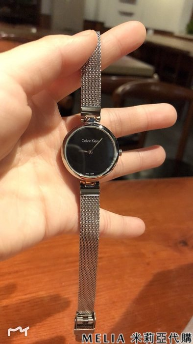Melia 米莉亞代購 美國採買 Calvin Klein CK 入秋新品 女士款 手錶 k8g23121 時尚腕錶