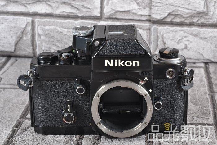 【品光數位】Nikon F2A 含DP-11測光觀景器 經典機械式底片機  黑機 #76986