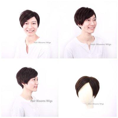 Hair Blooms Wigs - 脫髮專用醫療假髮 | 化療假髮  | 一站式度身訂造真髪假髮 | Medical Wig