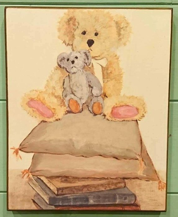 《齊洛瓦鄉村風雜貨》義大利熊熊版畫 掛畫 居家裝飾
