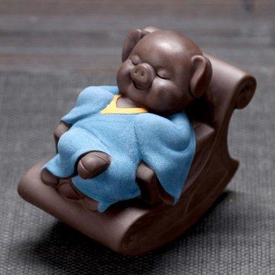 中大碼T恤 可愛小豬娃娃公仔小擺件歐式客廳家居裝飾品臥室擺設房間個性創意