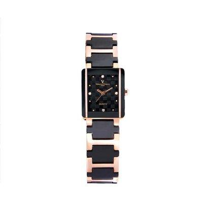 9D 61222RG-2L 愛戀櫻花半陶瓷手錶手表范倫鐵諾古柏 Valentino Coupeau