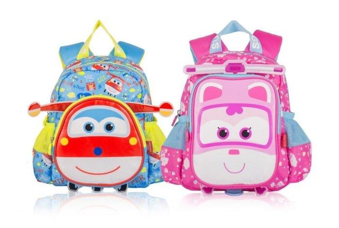 現貨~正版授權 飛機總動員兒童書包2-5歲防走失書包 草莓花園