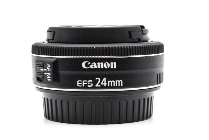 【高雄青蘋果3C】CANON EF-S 24MM F2.8 STM 定焦鏡 二手鏡頭 #31714