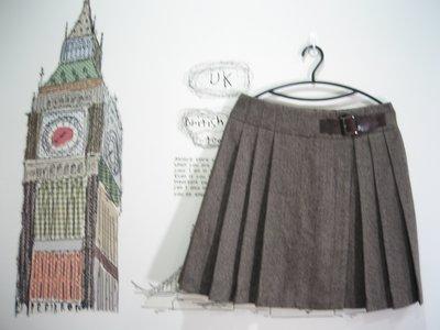 浪漫滿屋 專櫃商品Single noble(S/NO18050)女裝/毛料裙