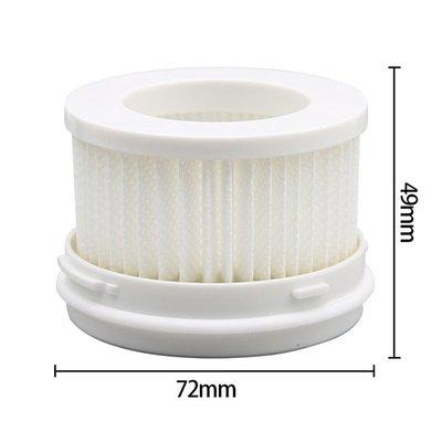 優惠特價  濾網 小米 米家手持無線吸塵器Lite/1C 專用HEPA 濾網 (副廠) 強效過濾