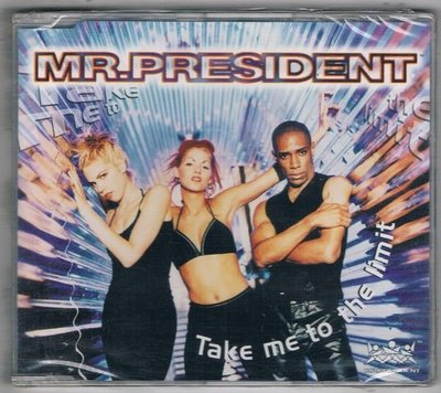 [鑫隆音樂]西洋單曲-MR.PRESIDENT / Take me to the limit {398420329-2} 全新