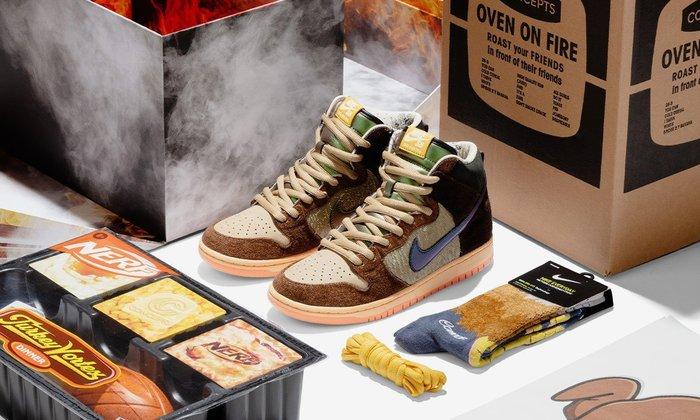 【紐約范特西】預購 Nike SB Dunk High Concepts Turdunken (Special Box)