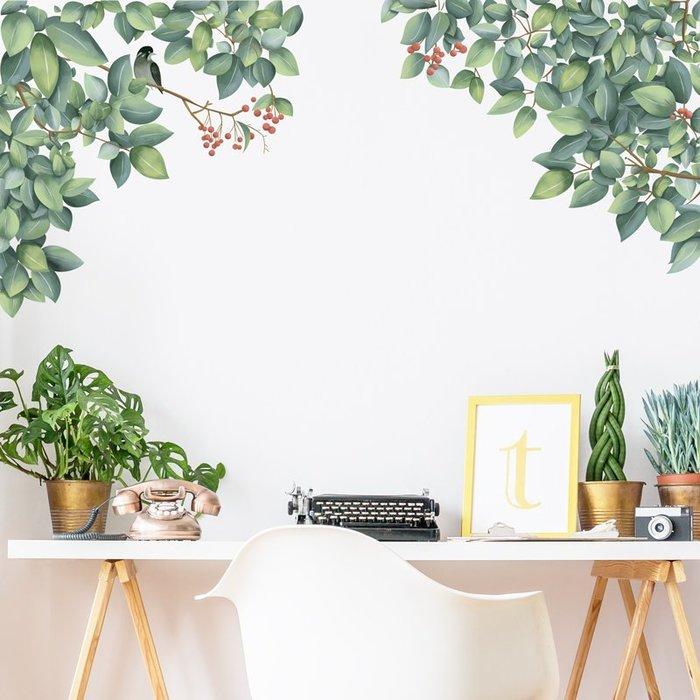預售款-LKQJD-宿舍ins風創意溫馨小清新臥室墻面墻上裝飾貼紙墻壁墻貼畫自粘