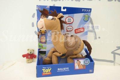 【Sunny Buy】◎現貨◎ Disney 迪士尼 玩具總動員 25周年版 紅心馬 Bullseye 發聲公仔