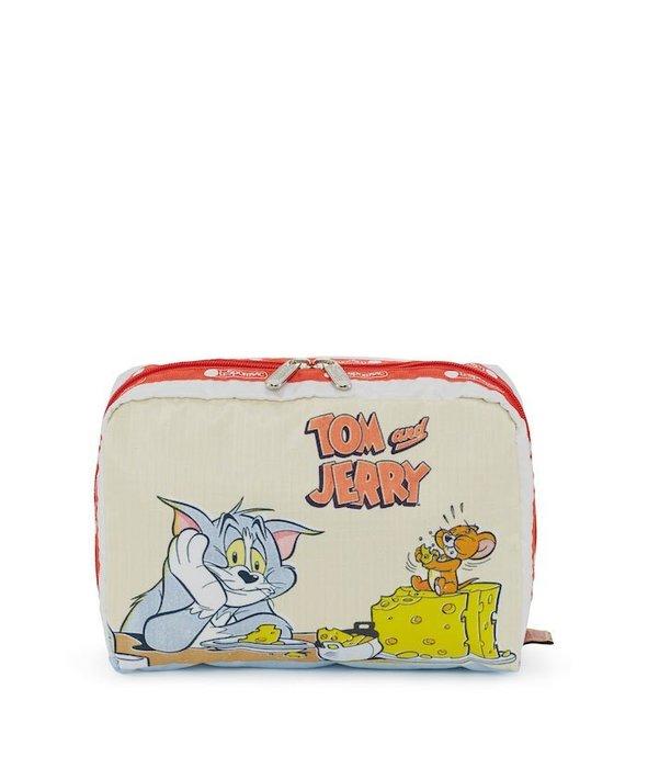 ♥ 小花日韓雜貨 ♥ -- Lesportsac 7121 湯姆與傑利 tom and jerry手拿包收納包化妝包筆袋