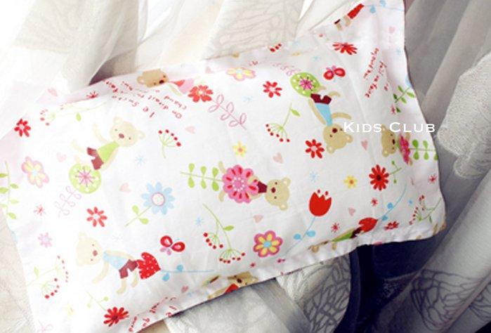 【Kids Club】北歐風格高雅氣質寶寶嬰兒床品純棉多樣花色可愛甜美帥氣好看嬰兒枕套兒童枕頭套