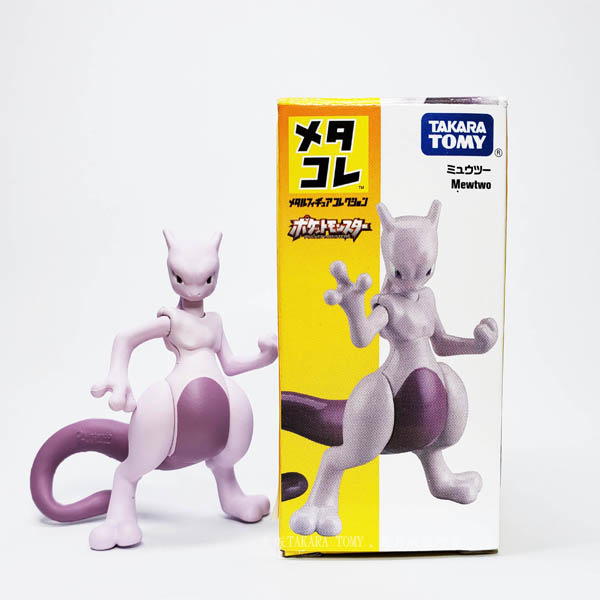 【HAHA小站】DS167754 正版 盒裝 麗嬰 TAKARA TOMY 合金人形 超夢 寶可夢 可動人形 合金 公仔