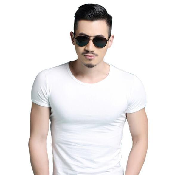 夏季圓領男士短袖T恤