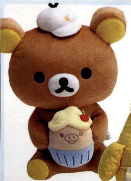 拉拉熊小雞蛋糕 超可愛娃娃
