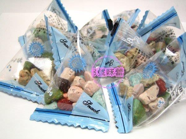 3號味蕾 量販團購網~【三角包】石頭巧克力3000公克量販價.韓國進口 魔岩巧克力 生日派對..(粽包)