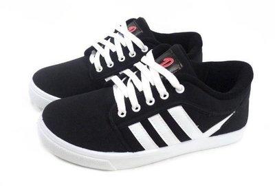 美迪-951鞋帶式-帆布鞋-工作運動休...