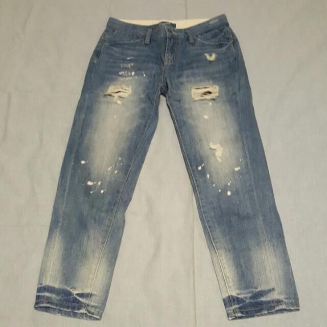 SOMEONE女牛仔褲