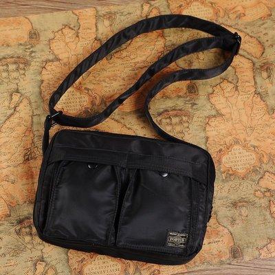 丸子雜貨鋪 日本吉田 porter男女單肩包運動休閒郵差包 尼龍單肩包斜挎包手提包平板電腦包肩背包斜肩包 側背包 後背包  胸包