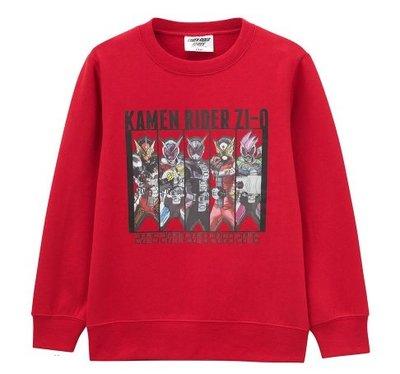 【胖兔兒精選】日本直購 假面ZI-O 長T 假面騎士 衣服 刷毛 長袖上衣 保暖好穿 聖誕節 過年 生日 禮物