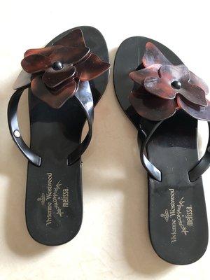 Vivienne Westwood & Melissa 聯名 香香鞋 拖鞋 夾腳拖鞋~二手