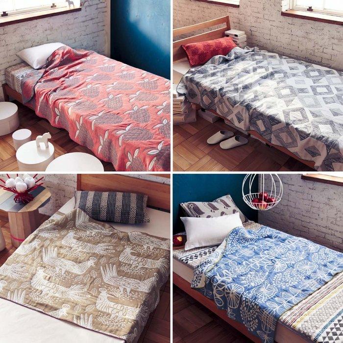 日本春夏大好評 新品 北歐風 純棉五層紗布 透氣涼被毯 (現貨款特價) 再補貨到!