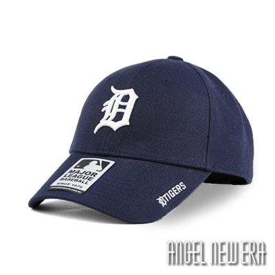 【PD帽饰】【MLB Old Fashioned Cap】D 底特律 老虎 藏青色 老帽 鴨舌帽【ANGEL NEW ERA 】